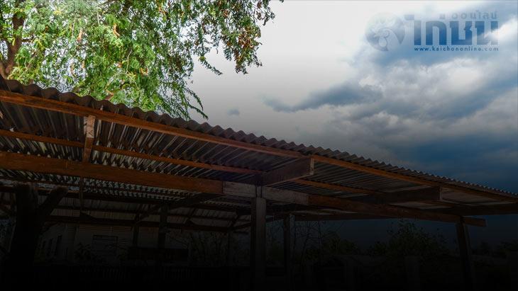 เตือนพายุฤดูร้อนบริเวณประเทศไทยตอนบน ฝนฟ้าคะนอง ลมกระโชกแรง ฟ้าผ่า และมีลูกเห็บ